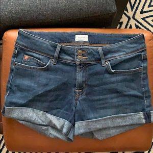 Hudson Croxley Mid-thigh Jean Shorts